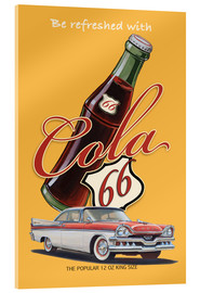 Akrylglastavla  Cola 66 Advertising - Georg Huber