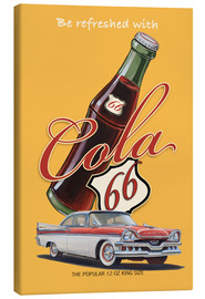 Canvastavla  Cola 66 Advertising - Georg Huber