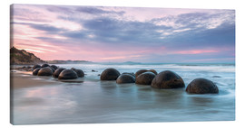Canvastavla  Moeraki boulders, New Zealand - Matteo Colombo