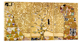 Akrylglastavla  The tree of life (Detail) - Gustav Klimt