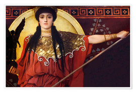 Premiumposter  Ancient Greece (Athene) - Gustav Klimt