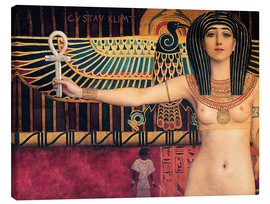 Canvastavla  Ancient Egypt (Isis) - Gustav Klimt