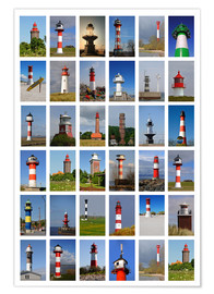 Premiumposter  Lighthouses - Sarnade