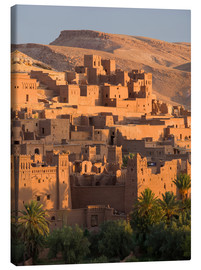 Canvastavla  Kasbah Ait Benhaddou near Ouarza - Lee Frost