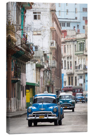 Canvastavla  Taxis in Avenue Colon, Cuba - Lee Frost