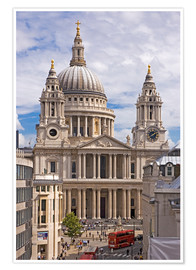 Premiumposter St. Paul's Cathedral, London