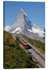 Canvastavla  Excursion to the Matterhorn - Hans-Peter Merten