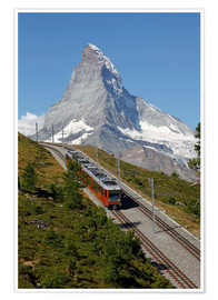 Premiumposter  Excursion to the Matterhorn - Hans-Peter Merten