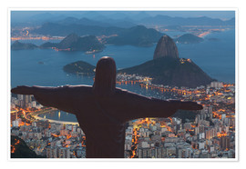 Premiumposter  Christ the Redeemer, Corcovado - Angelo Cavalli