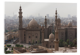 Akrylglastavla  Mosque of Sultan Hassan in Cairo old town, Cairo, Egypt, North Africa, Africa - Martin Child