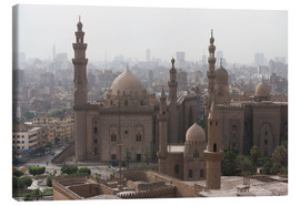 Canvastavla  Mosque of Sultan Hassan in Cairo old town, Cairo, Egypt, North Africa, Africa - Martin Child