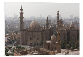 PVC-tavla  Mosque of Sultan Hassan in Cairo old town, Cairo, Egypt, North Africa, Africa - Martin Child