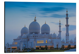 Aluminiumtavla  Sheikh Zayed Grand Mosque - Jane Sweeney
