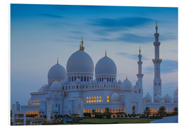 PVC-tavla  Sheikh Zayed Grand Mosque - Jane Sweeney