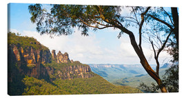 Canvastavla  Panoramic photo of the Three Sisters - Matthew Williams-Ellis