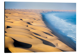 Aluminiumtavla  Namib Desert on the Atlantic - Roberto Sysa Moiola