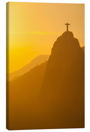 Canvastavla  Christ the Redeemer statue, Rio - Michael Runkel