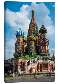 Canvastavla  St. Basil's Cathedral, Moscow - Michael Runkel