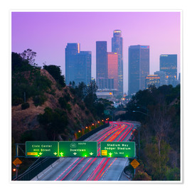 Premiumposter  Route 110, Los Angeles, California, United States - Alan Copson