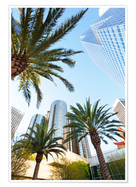 Premiumposter  Palm trees in Los Angeles - Gavin Hellier