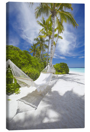 Canvastavla  Hammock on tropical beach - Sakis Papadopoulos