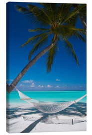 Canvastavla  Hammock on a tropical beach - Sakis Papadopoulos