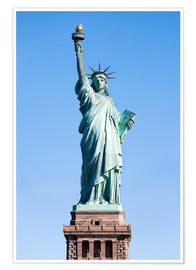 Premiumposter  Statue of Liberty in New York USA - Jan Christopher Becke