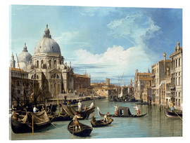Akrylglastavla  The Entrance to the Grand Canal, Venice - Bernardo Bellotto (Canaletto)