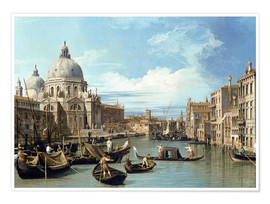 Premiumposter  The Entrance to the Grand Canal, Venice - Bernardo Bellotto (Canaletto)
