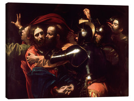 Canvastavla  The Taking of Christ - Michelangelo Merisi (Caravaggio)