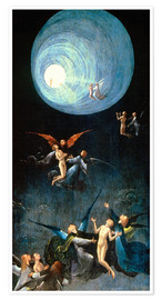 Poster  The Ascent to the Heavenly Paradise - Hieronymus Bosch