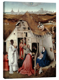 Canvastavla  Adoration of the Magi - Hieronymus Bosch