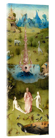 Akrylglastavla  Garden of Earthly Delights, the paradise - Hieronymus Bosch