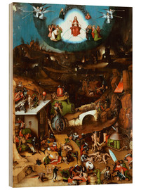 Trätavla  The Last Judgement, midsection - Hieronymus Bosch