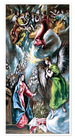 Premiumposter The Annunciation