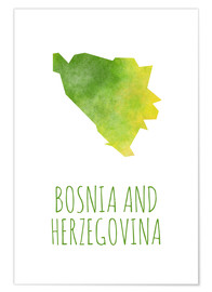Premiumposter Bosnia and Herzegovina