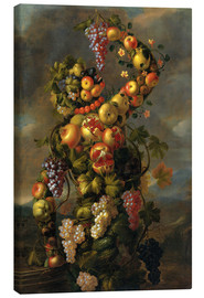 Canvastavla  Autumn (An Allegory of the Four Seasons) - Giuseppe Arcimboldo