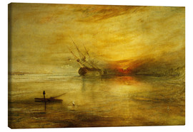 Canvastavla  Fort Vimieux - Joseph Mallord William Turner
