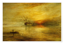 Poster  Fort Vimieux - Joseph Mallord William Turner
