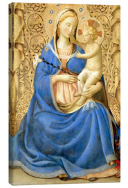 Canvastavla  Madonna with Child - Fra Angelico