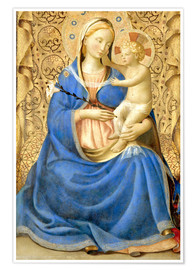 Premiumposter Madonna with Child