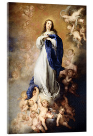 Akrylglastavla  Immaculate Conception of Mary - Bartolome Esteban Murillo