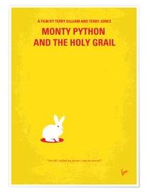 Poster  No036 My Monty Pyton And The Holy Grail minimal movie poster - chungkong