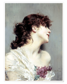 Poster Profile of a young Woman
