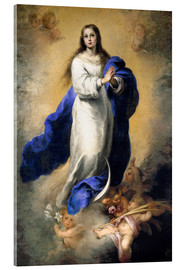 Akrylglastavla  The Immaculate Conception - Bartolome Esteban Murillo