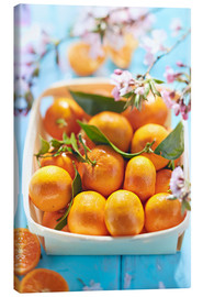 Canvastavla  Summer-sweet tangerines - K&L Food Style
