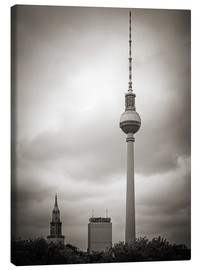 Canvastavla  Berlin TV tower - Alexander Voss