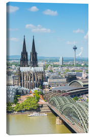 Canvastavla  Cologne Cathedral (Cathedral of St. Peter) - rclassen