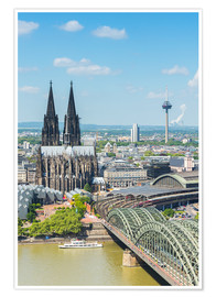 Premiumposter  Cologne Cathedral (Cathedral of St. Peter) - rclassen