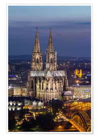 Premiumposter  cathedral of cologne - rclassen